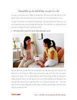 Những điều mẹ cần biết để dạy con gái về cơ thể