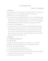 SUY THƯỢNG THẬN và CHẨN đoán và điều TRỊ SUY TUYẾN yên