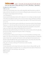 Giải bài tập SGK Tiếng Anh lớp 12 Unit 6: Reading - Speaking