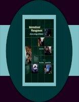 chap007 international management  cross cultural communication and negotiation