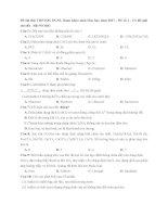 Đề thi thử THPTQG ĐGNL tham khảo môn hóa học năm 2017   đề số 1   có lời giải chi tiết   file WORD