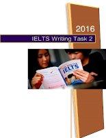 Đề thi IELTS 2016 update