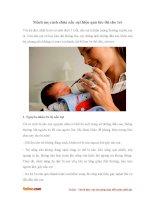 Mách mẹ mẹo chữa nấc cụt hiệu quả tức thì cho bé