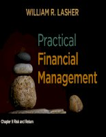 Practical financial management  lasher 7th ed chapter  09
