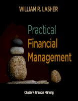 Practical financial manaegment  lasher 7th ed chapter  04