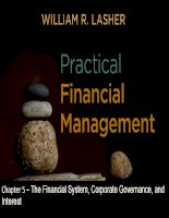 Practical financial manaegment  lasher 7th ed chapter  05
