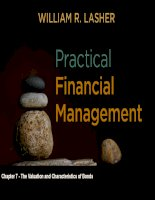 Practical financial manaegment  lasher 7th ed chapter  07