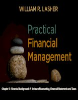 Practical financial manaegment  lasher 7th ed chapter  02