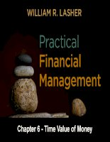 Practical financial manaegment  lasher 7th ed chapter  06
