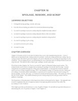 Test bank accounting management 11e chapter 18 SPOILAGE, REWORK, AND SCRAP