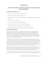 Test bank accounting management 11e chapter 05ACTIVITY BASED COSTING AND ACTIVITY BASED MANAGEMENT