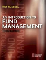 AN INTRODUCTION TO FUND MANAGEMENT 3th ed  ray russell