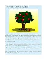 Truyện kể mầm non truyện kể chuyện cây táo