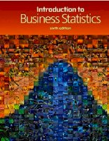 Introduction to business statistics 6th ed RWeiers thomson
