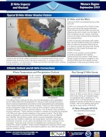WRCC El Nino Impacts and Outlook  September 2015