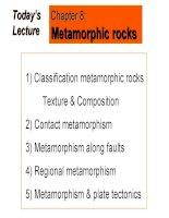 Lecture 16   metamorphism