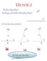 bài 10 đường thẳng song song với một đường thẳng cho trước