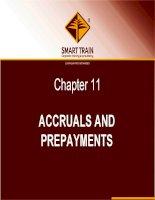 BÀI GIẢNG kế TOÁN QUỐC tế chapter 11   accruals and prepayments