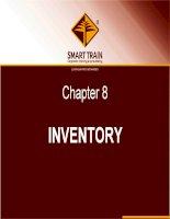 BÀI GIẢNG kế TOÁN QUỐC tế chapter 8   inventory
