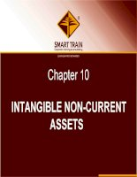 BÀI GIẢNG kế TOÁN QUỐC tế chapter 10   intangible non current assets