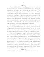 TIỂU LUẬN   một số nội DUNG cơ bản TRONG tư TƯỞNG TRIẾT học hồ CHÍ MINH về văn hóa   ý NGHĨA của vấn đề TRONG TÌNH HÌNH HIỆN NAY