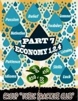 Lời giải chi tiết PART 7   LC  ECONOMY 1,2,4 bản đẹp