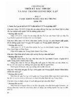 Hướng dẫn trả lời câu hỏi và bài tập lịch sử 6 phần 2