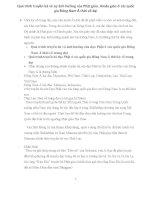 Quá trình truyền bá và ảnh hưởng của phật giáo, hindu giáo ở đông nam á thời cổ đại (2)