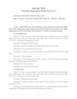 bài dự thi tìm hiểu luật khiếu nại  tố cáo
