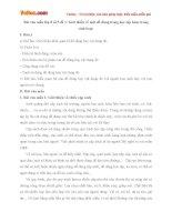 Bài văn mẫu lớp 8 số 5 đề 1: Giới thiệu về một đồ dùng trong học tập hoặc trong sinh hoạt