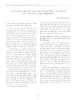 Chức năng văn bản, chức năng giao tiếp (liên nhân), chức năng biểu hiện trong câu (1)