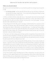 Câu Hỏi Ôn Thi Môn Thị Trường Chứng Khoán
