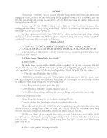 TÀI LIỆU THAM KHẢO GIÁO DỤC QUỐC PHÒNG   PHÒNG CHỐNG CHIẾN lược DIỄN BIẾN HÒA BÌNH, BẠO LOẠN lật đổ CỦA CÁC THẾ lực THÙ ĐỊCH CHỐNG PHÁ CÁCH MẠNG VIỆT NAM