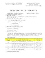 Đề cương chi tiết học phần Kinh doanh thời trang (Trường đại học sư phạm kĩ thuật TP.HCM)