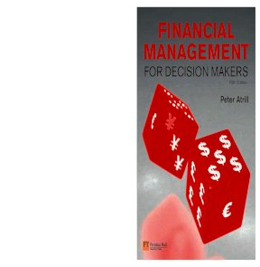 Financial management for decision makers fifth edition by peter atrill fandeluxe Choice Image