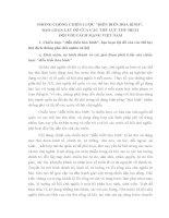TÀI LIỆU THAM KHẢO   BÀI GIẢNG PHÒNG, CHỐNG CHIẾN lược DIỄN BIẾN HÒA BÌNH, BẠO LOẠN lật đổ CỦA CÁC THẾ lực THÙ ĐỊCH đối với CÁCH MẠNG VIỆT NAM