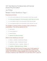 107 test bank for fundamentals of financial accounting 4th edition Đề thi trắc nghiệm có đáp án