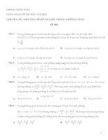 650 câu hỏi trắc nghiệm chuyên đề phương pháp tọa độ trong không gian - Nhóm Toán