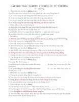 Câu hỏi trắc nghiệm vật lí 11 chương IV có đáp án