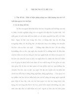 Một số biện pháp nâng cao chất lượng cho trẻ 4 5 tuổi làm quen với văn học