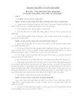 Bài thi Tìm hiểu kiến thức pháp luật về cán bộ công chức