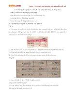 Giải bài tập trang 66, 67, 68 SGK Vật lý lớp 7: Cường độ dòng điện