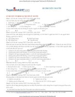 216 bài tập chọn lọc chuyên đề di truyền người c1o lời giải chi tiết