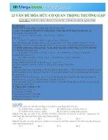 VNCLASS 23 TRỌNG điểm hóa hữu cơ HAY gặp NHẤT TRONG đề THI