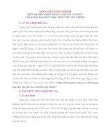 SKKN SÁNG KIẾN KINH NGHIỆM MỘT SỐ BIỆN PHÁP NÂNG CAO CHẤT LƯỢNG  GIÁO DỤC ĐẠO ĐỨC HỌC SINH LỚP CHỦ NHIỆM