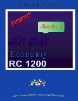 giải chi tiết part 5, 6  economy 1200 rc
