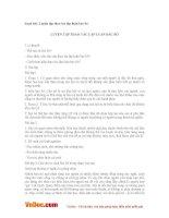Soạn bài lớp 11: Luyện tập thao tác lập luận bác bỏ