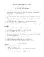 Đề cương ôn tập học kì 2 môn Toán lớp 10