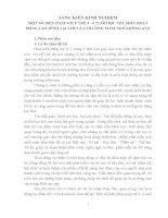 SKKN SÁNG KIẾN KINH NGHIỆM MỘT SỐ BIỆN PHÁP GIÚP TRẺ 5  6 TUỔI HỌC TỐT MÔN HOẠT ĐỘNG TẠO HÌNH TẠI LỚP LÁ 4 TRƯỜNG MẦM NON KRÔNG ANA