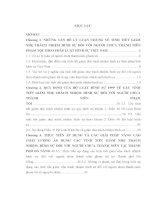Luận văn Các tình tiết giảm nhẹ trách nhiệm hình sự đối với người chưa thành niên phạm tội theo pháp luật hình sự Việt Nam từ thực tiển thành phố Đà Nẵng